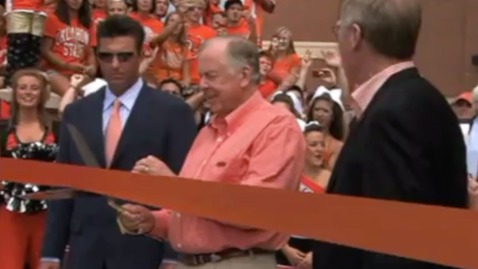 Thumbnail for entry ARCHIVES:  Boone Pickens Stadium Dedication Ceremony