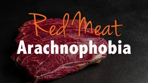Thumbnail for entry Red Meat Arachnophobia