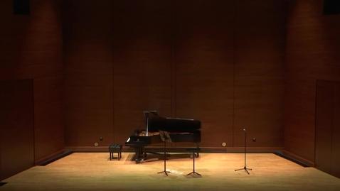 Thumbnail for entry   Greenwood School of  Music Senior Recital --Raquel Hernandez