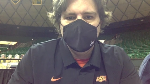Thumbnail for entry 2/25/21 Cowgirl Basketball: OSU/Baylor Postgame Interview with Head Coach Jim Littell.