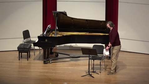 Thumbnail for entry  Greenwood School of Music Guest Recital: Alex Purdy