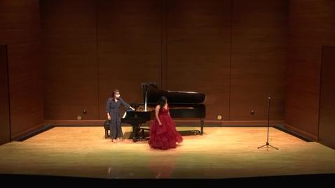 Thumbnail for entry Greenwood School of Music Senior Recital--Mariah Moreno