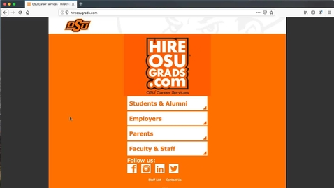 Thumbnail for entry Creating an account on the Hire System