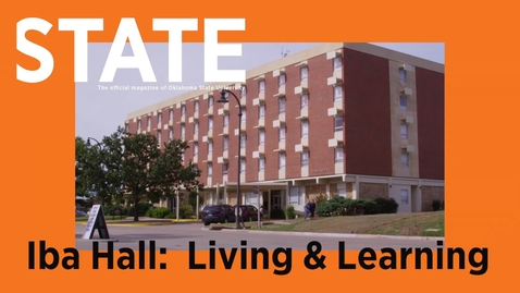 Thumbnail for entry STATE Magazine:  Living & Learning in Iba Hall