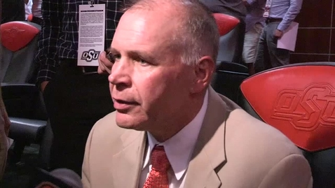 Thumbnail for entry OSU/MSU Football Postgame:  Jim Knowles Speaks to the  Media
