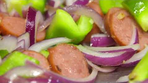 Thumbnail for entry Cooking with Barb: Sausage, Onion, Potato Skillet