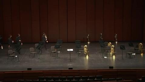 Thumbnail for entry Greenwood School of Music Tuba/Euphonium Ensemble Concert