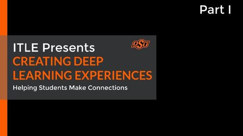 Thumbnail for entry Creating Deep Learning Experiences Part I: Introduction