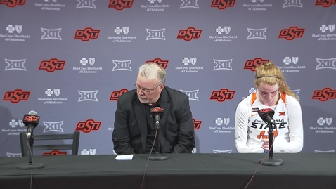 Cowgirl Basketball:  Bedlam Postgame Press Conference
