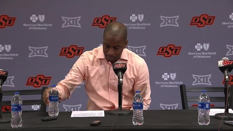 Thumbnail for entry Cowboy Basketball:  OSU/TTU Postgame Press Conference