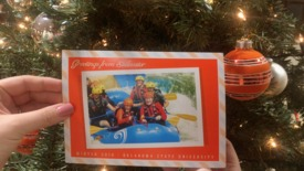 Thumbnail for entry Holiday Greetings from Burns and Ann Hargis