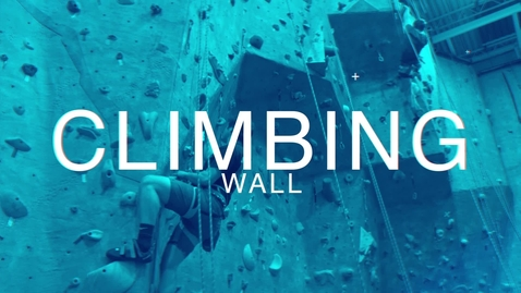Thumbnail for entry Outdoor Adventure Rock Climbing Wall at the Colvin