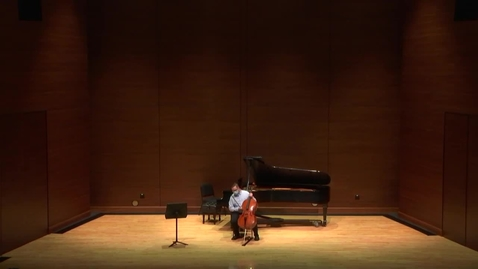 Thumbnail for entry  Greenwood School of  Music Graduate Recital --Dustin Winters