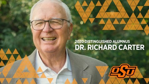 Thumbnail for entry 2020 Distinguished Alumni: Dr. Richard Carter