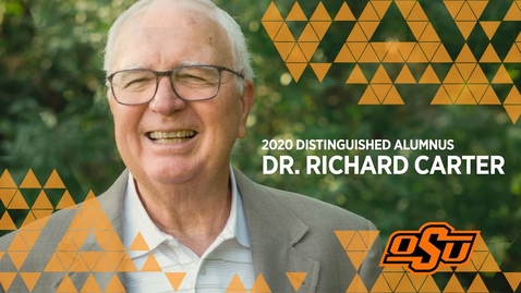 Thumbnail for entry 2020 Distinguished Alumni: Dr. Richard Carter