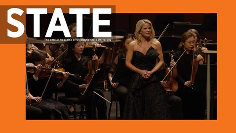 Thumbnail for entry STATE:  One-On-One With Kelli O'Hara