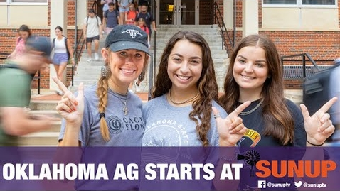 Thumbnail for entry Back to School at Oklahoma State University (8/21/21)