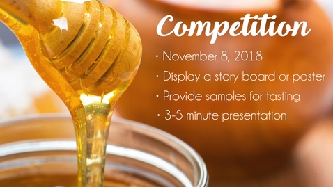 Thumbnail for entry Food Product Innovation Competition