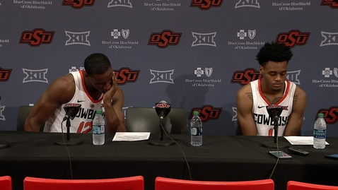 Cowboy Basketball vs. Baylor Postgame Press Confrence 1-14-19