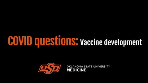 Thumbnail for entry COVID Questions: Vaccine Development