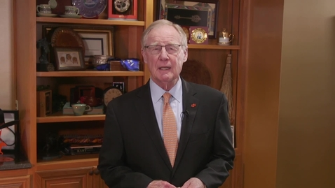 Thumbnail for entry OSU President Burns Hargis Statement Regarding Murray Hall Name Removal