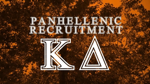 Thumbnail for entry Panhellenic House Tour - Kappa Delta