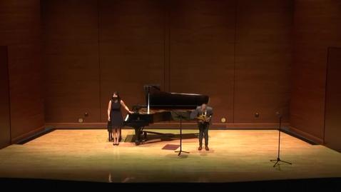 Thumbnail for entry Greenwood School of Music Senior Recital--Jacob Hemenway