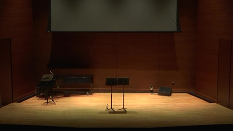 Thumbnail for entry Greenwood School of Music Faculty Recital--Dr. Andrew Parker
