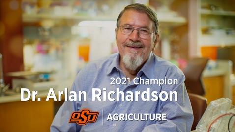 Thumbnail for entry 2021 Ag Champion: Arlan Richardson
