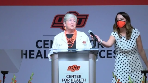 Thumbnail for entry REBROADCAST:  Oklahoma State University Center for Health Sciences Fall 2020 White Coat Ceremony