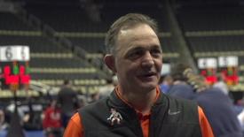 Thumbnail for entry NCAA Wrestling Championships:  John Smith Speaks to the Media
