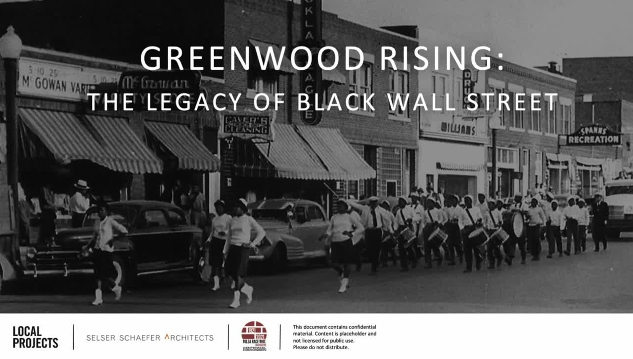 REBROADCAST:  From Tragedy to Triumph--History of the 1921 Tulsa Massacre, Greenwood, and Black Wall Street
