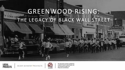 Thumbnail for entry REBROADCAST:  From Tragedy to Triumph--History of the 1921 Tulsa Massacre, Greenwood, and Black Wall Street