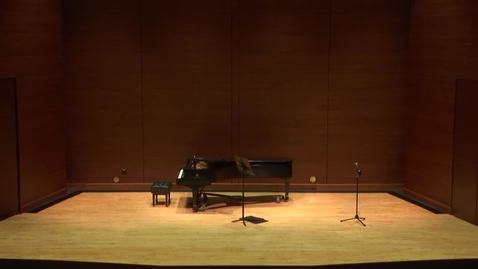 Thumbnail for entry Greenwood School of Music Student Recital- Kendall Holt
