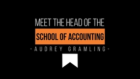 Thumbnail for entry Meet Audrey Gramling - Accounting Department Head