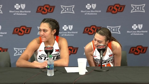 Thumbnail for entry OSU/UT Women's Basketball Postgame: Jim Littell and Players Speak to the Media