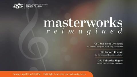 Thumbnail for entry REBROADCAST : President's Masterworks Concert 2021