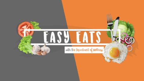 Thumbnail for entry Easy Eats - No-Bake Granola Bars