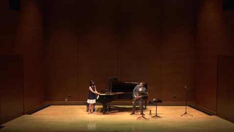 Thumbnail for entry Greenwood School of Music Senior Recital--James Fahlund