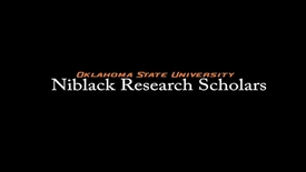 Thumbnail for entry Victoria Pickens, 2017-18 Niblack Research Scholar