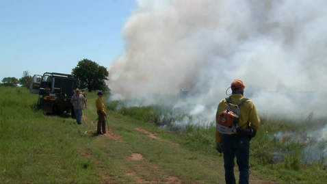 Thumbnail for entry Teaching prescribed burning to NRCS specialists from around the country