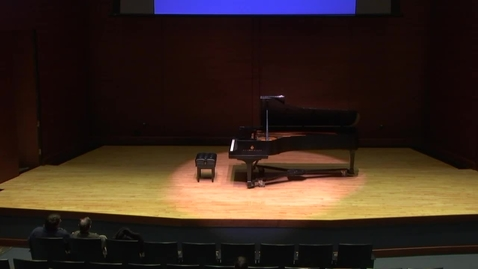 Thumbnail for entry REBROADCAST:  Greenwood School of Music Faculty Recital--Heather Lanners