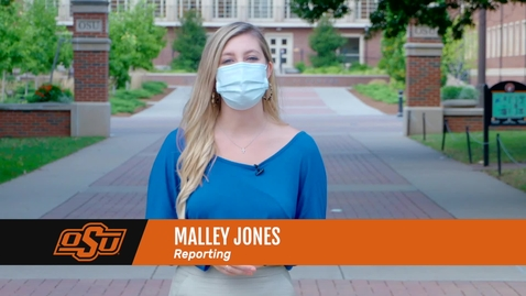 Thumbnail for entry Volunteers Distribute Care Packages to Oklahoma State Students in Quarantine