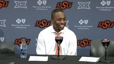 Thumbnail for entry Cowboy Basketball:  TCU @ OSU Postgame Press Conference