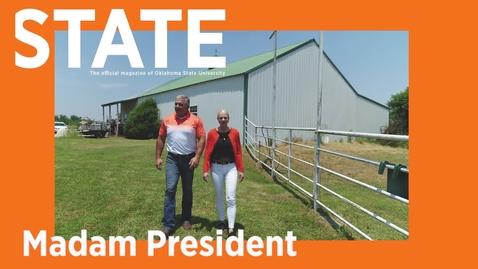 Thumbnail for entry STATE Magazine:  Madam President