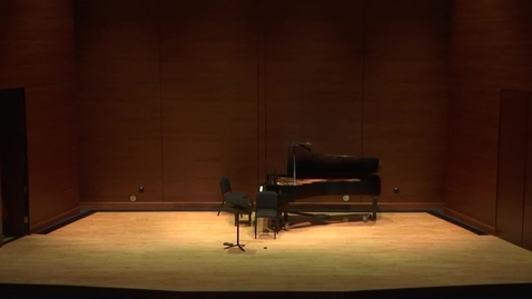 Thumbnail for entry Greenwood School of Music Graduate Recital- Maria Savarese