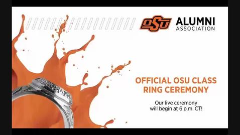 Thumbnail for entry REBROADCAST:  Fall 2020 Virtual OSU Class Ring Ceremony