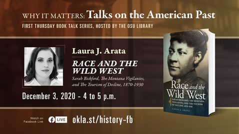 Thumbnail for entry Why It Matters: Talks on the American Past featuring Laura Arata