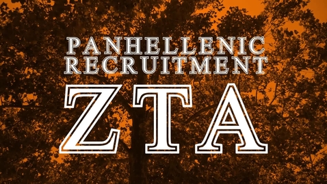 Thumbnail for entry Panhellenic House Tour - Zeta Tau Alpha
