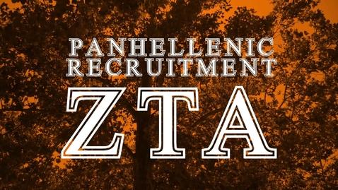 Thumbnail for entry Panhellenic House Tour - Zeta Tau Alpha